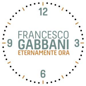 """FRANCESCO GABBANI """"ETERNAMENTE ORA"""" il secondo singolo"""