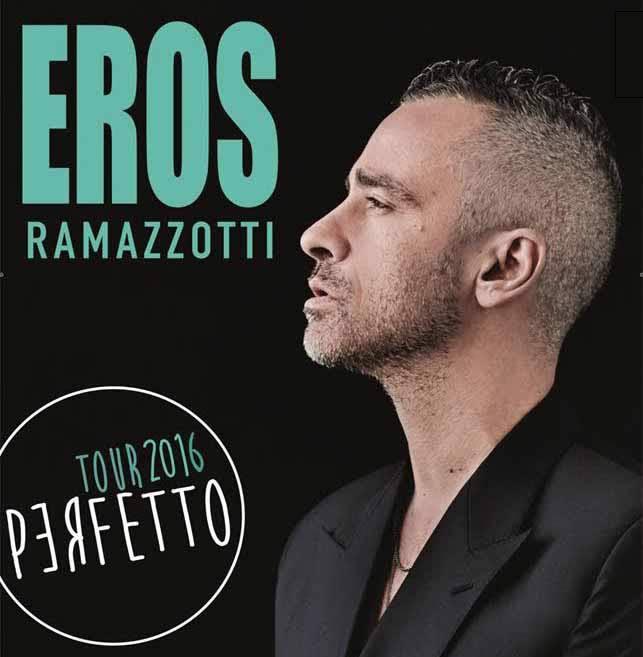 PERFETTO World Tour di Eros Ramazzotti a Taormina