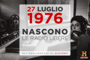 Buon compleanno, 40 anni fa nascevano le radio libere