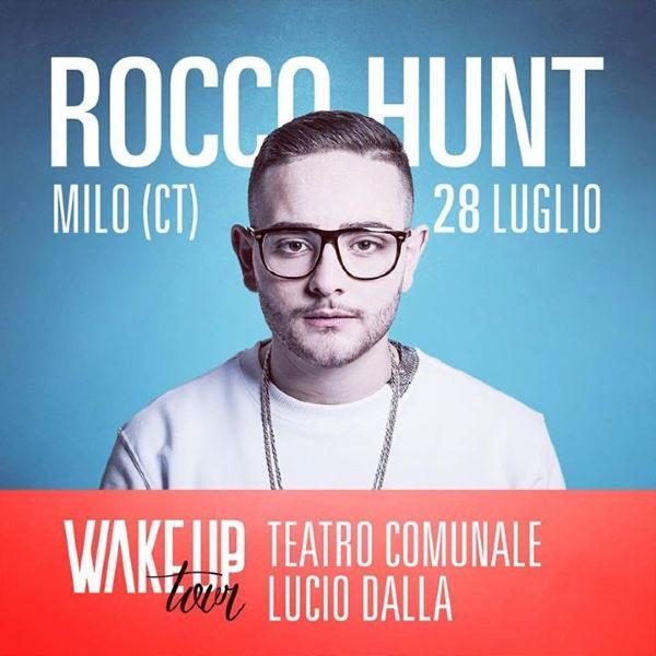 Rocco Hunt in concerto in Sicilia