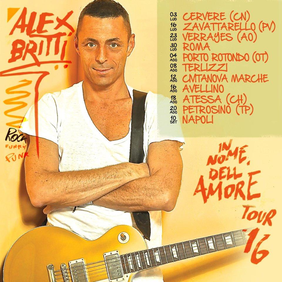 ALEX BRITTI In nome dell'amore tour a PETROSINO