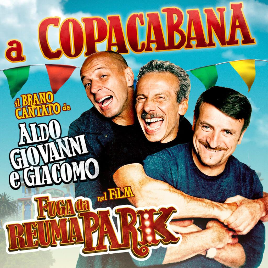 A COPACABANA colonna sonora FUGA DA REUMA PARK
