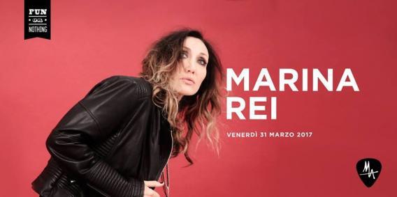 MARINA REI in concerto in Sicilia al MA di Catania