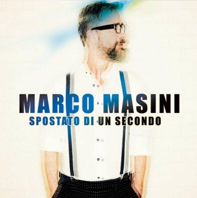"""Sanremo 2017: """"SPOSTATO DI UN SECONDO"""" il nuovo album di MARCO MASINI"""