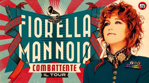 FIORELLA MANNOIA in concerto a Taormina con COMBATTENTE TOUR