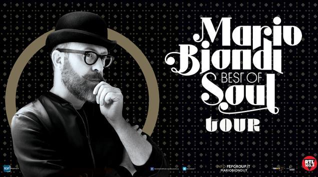 Mario Biondi in concerto a Taormina e Noto