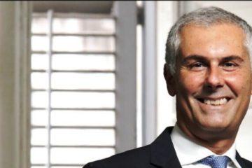 Il Ministro Claudio De Vincenti a Palermo per Fabrizio Micari