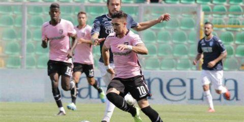 """I rosanero, battendo 3 – 0 la Salernitana al """"Barbera"""", si laureano campioni d'inverno. Di Chochev, Monachello e Jajalo"""