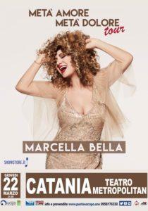 Marcella Bella Metà amore, metà dolore Tour