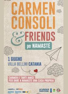 Carmen Consoli & Friends per Namaste' - Catania