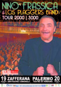 Nino Frassica & Los Plaggers Band Tour 2000 | 3000 Teatro di Verdura PALERMO 20 agosto 2018