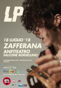 LP Live Tour Anfiteatro Falcone Borsellino ZAFFERANA 18 luglio 2018