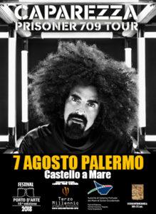 Caparezza 7 Agosto 2018 Castello a Mare - Palermo