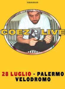 Coez 28 Luglio 2018-Palermo