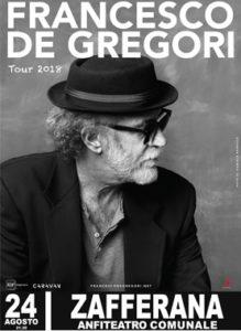 Francesco De Gregori 24 Agosto 2018 - Zafferana