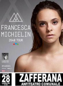 Francesca Michielin 28 Luglio 2018 Anfiteatro Falcone Borsellino (CT)