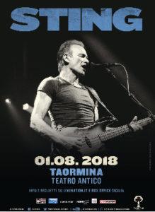 Sting 01 Agosto 2018 Teatro Antico Taormina