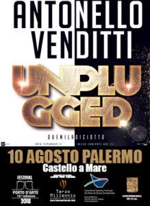 Antonello Venditti 10 Agosto 2018 Palermo