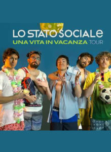 Lo Stato Sociale Malamara Music Fest Largo Aosta - Canicatti'
