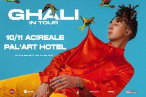GHALI in tour – 10 novembre ACIREALE