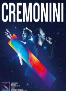 Cremonini Live 2018 08 Dicembre 2018 Pal' Art Hotel Acireale