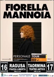 Fiorella Mannoia | 16 agosto RAGUSA – 17 agosto Teatro antico TAORMINA - 19 AGOSTO – Teatro di Verdura - PALERMO