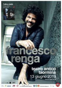 Francesco Renga | 13 giugno Teatro antico TAORMINA