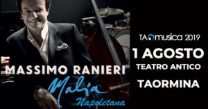 Massimo Ranieri | 1 agosto Teatro antico Taormina
