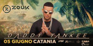 Daddy Yankee | 5 giugno Catania | Area Concerti Lido Azzurro