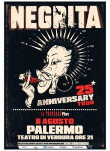 Negrita 8 AGOSTO Teatro di Verdura - Palermo (PA)