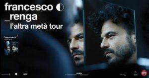FRANCESCO RENGA 25 NOVEMBRE - TEATRO GOLDEN (PALERMO)