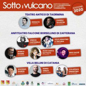 """Festival """"Sotto il vulcano 2020"""" (Il Programma)"""